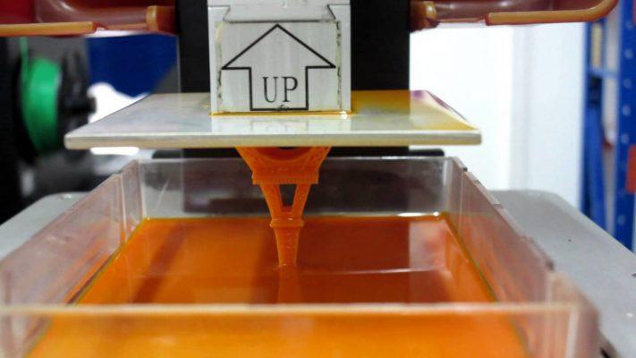 3D SLA printing