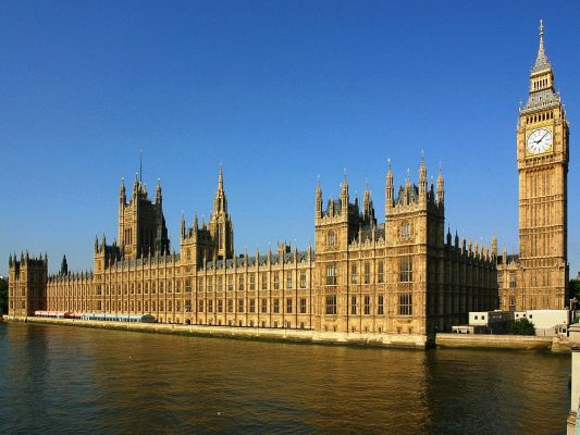 Palace of Westminster London